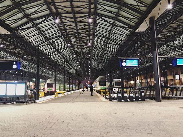 ヘルシンキ中央駅より、2時間ほど世界の車窓を楽しみます🚆@makicomfy の買い付け日記#フィンランド #comfymakiの北欧旅2018 (Instagram)