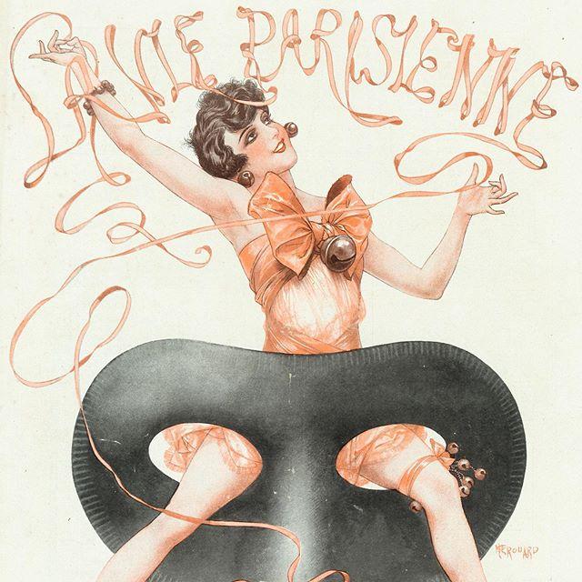 大好きなフランスの雑誌、La Vie Parisienne。なんと、その表紙や挿絵のイラストが、1950年代に発行されていた日本の某雑誌の表紙に使われていたとは。その雑誌は今でもマニアの間では人気だそう。いろんな世界がいろんな場所で繋がるのが面白すぎる!ちなみにこれは1928年2月11日号。